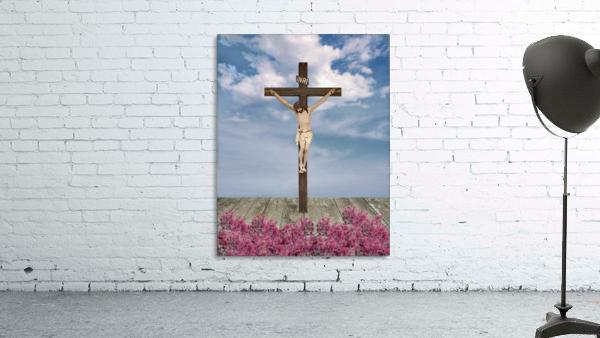 Jesus on the Cross Illustration