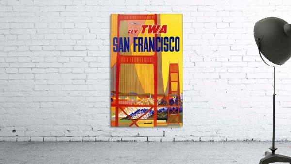 Fly TWA San Francisco poster