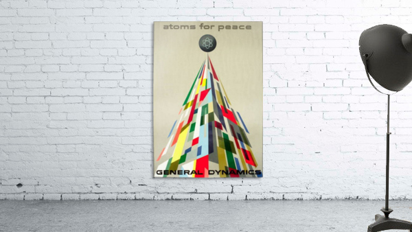 Atoms for Peace poster