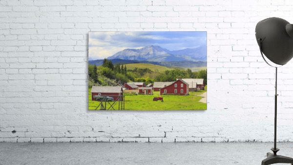 Bar U Ranch National Historic Site; Longview, Alberta, Canada