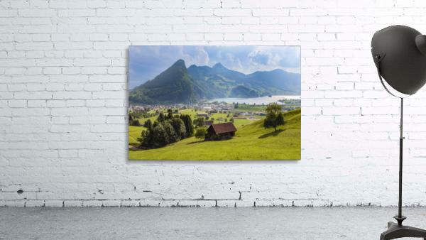 Seewen, a village on Lake Lauerz; Schwyz Canton, Switzerland