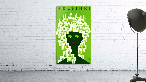 Helsinki Tourist Office Poster