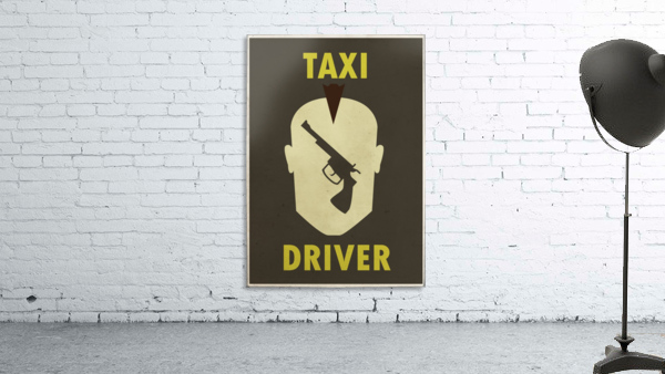 Taxi Driver Vintage Movie Poster