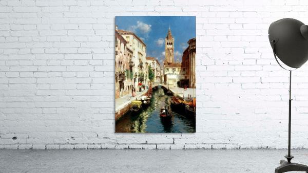 Along Venetian canal