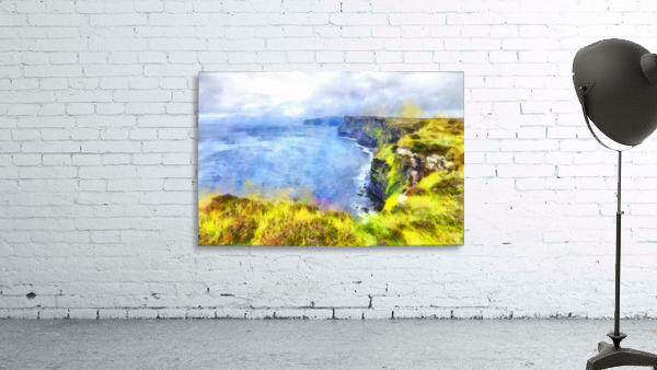CLIFFS OF MOHER 1 WATERCOLOR