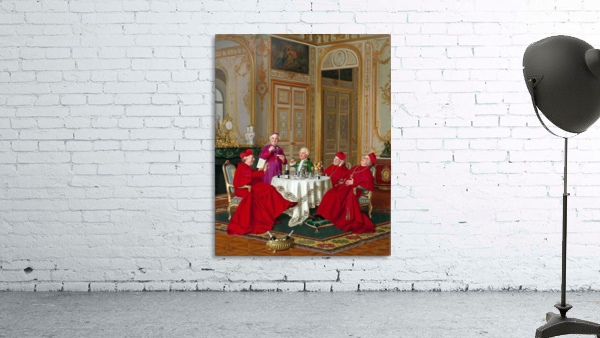 A couple of cardinals in the living room