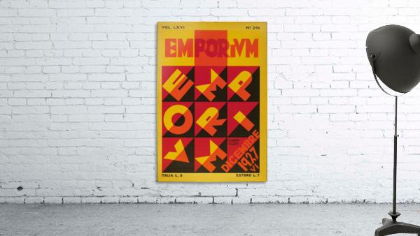 Emporium Italian vintage poster