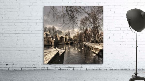 Bruges in Christmas dress