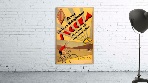 SICCEA original vintage poster