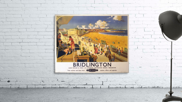Bridlington poster Blake, F Donald 1950