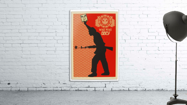 Wage Peace Obey poster