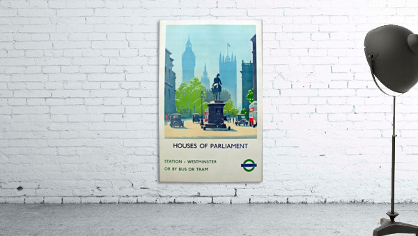 London Underground Houses of Parliament