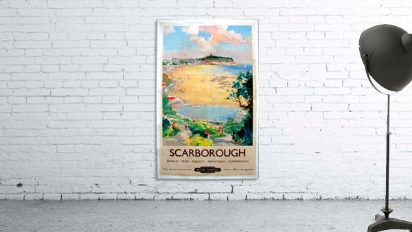 Original Railway Poster Scarborough