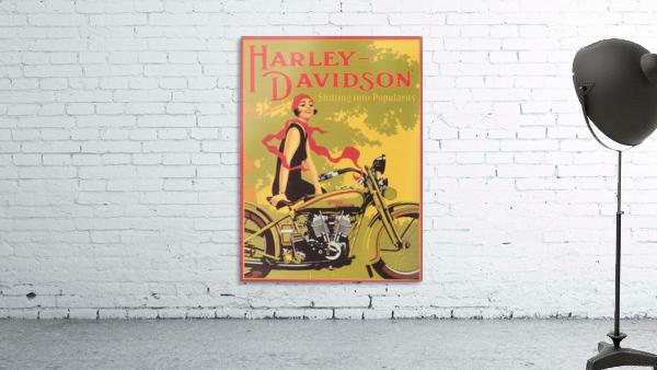 1929 Harley Davidson Shifting into Popularity
