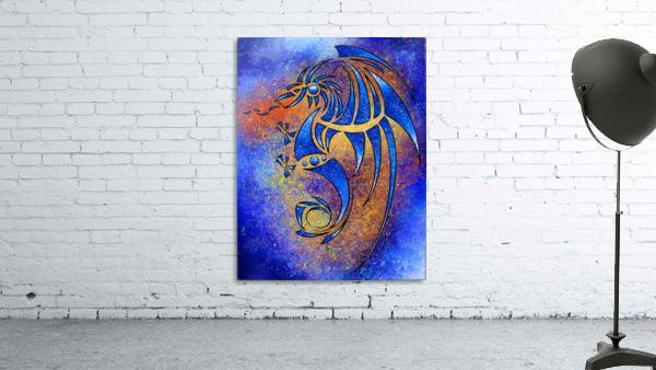 Dragissous V1 - blue dragon