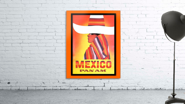 Mexico Travel Print 1968
