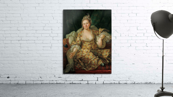 Portrait of the Countess of Vergenne
