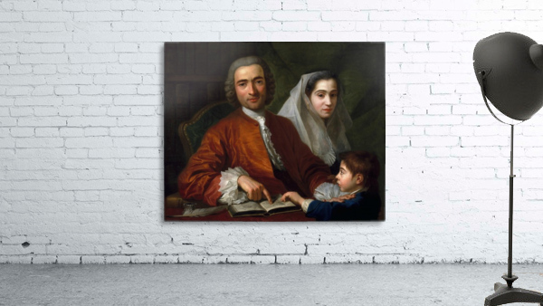 Dr Savatore Bernard with his wife and son