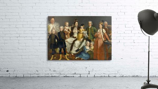 David George van Lennep and Family