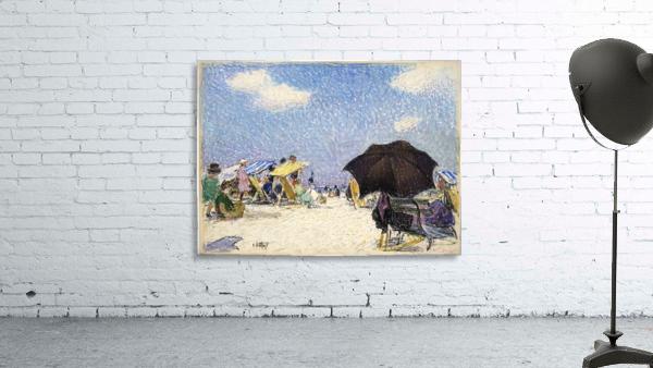Scene by the beach