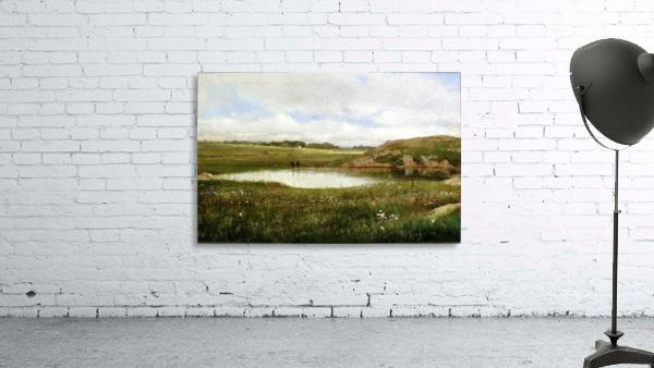 Freshwater Pond in Summer Rhode Island