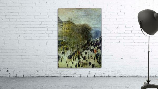 Boulevard of Capucines by Monet