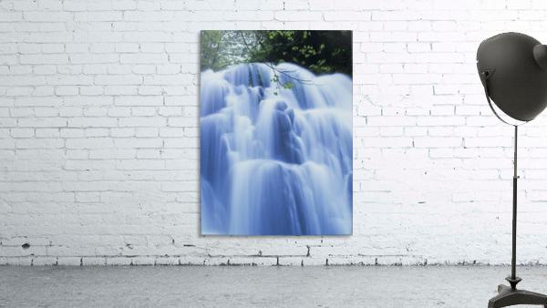 Sweet Creek waterfalls along the hiking trail; Mapleton, Oregon, United States of America