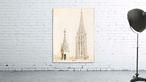 Tour et fleche de la cathedrale de Strasbourg