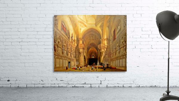 Interieur de la cathedrale Saint-Jean-des-Rois de Tolede