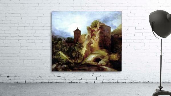A deserted castle