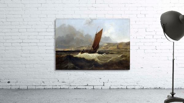 Sailing Boat off the Coast