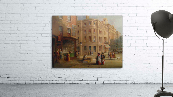 People talking in the street
