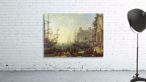 Seaport with the Villa Medici