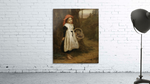 A Little Violet Seller 1877