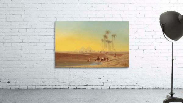 Oasis pres des pyramides