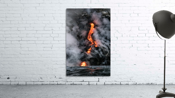 Simple lava shot