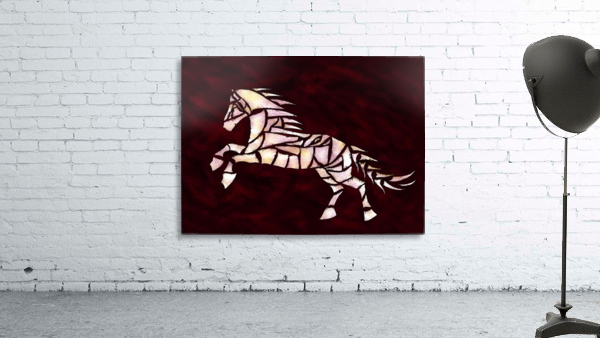 Cavallerone - white horse