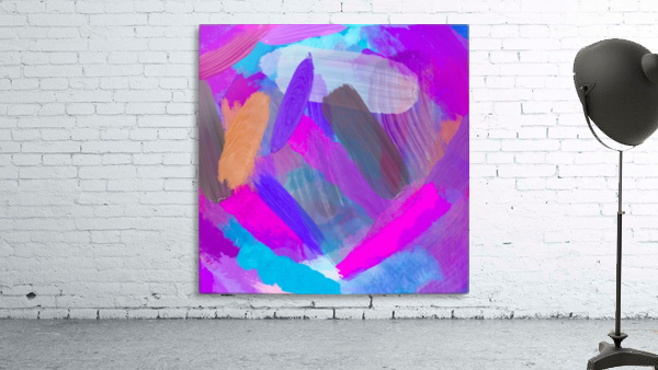 pink brown purple blue painting abstract background