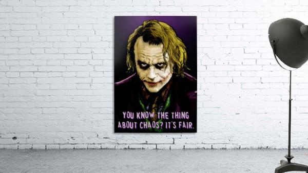 The Joker Says