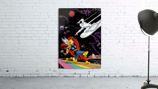 Marvel: Thor vs The Silver Surfer