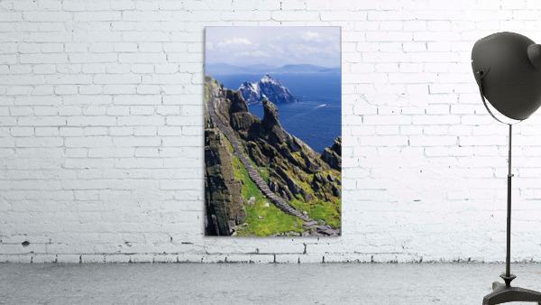 Stone Stairway, Skellig Michael, Skellig Islands, County Kerry, Ireland