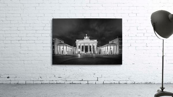 BERLIN Brandenburg Gate   Monochrome