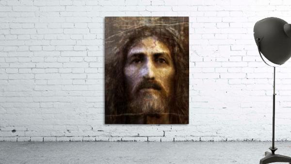 Christ face reconstruction
