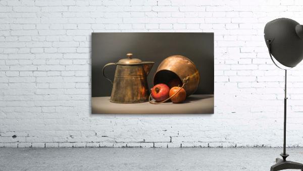 Copper Pots Pomegranate Apple