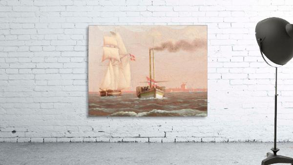 Danish paddle steamer