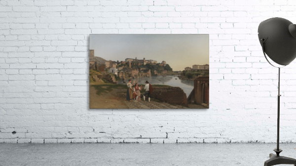 View of the Tiber near Ponte Rotto