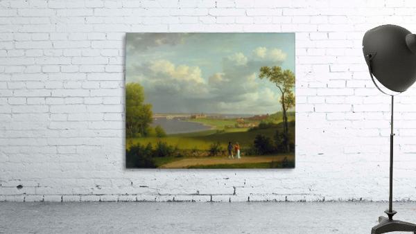 View north of Kronborg Castle