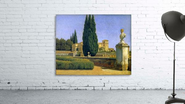 In the Gardens of the Villa Albani