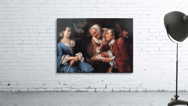The sitting, 1754