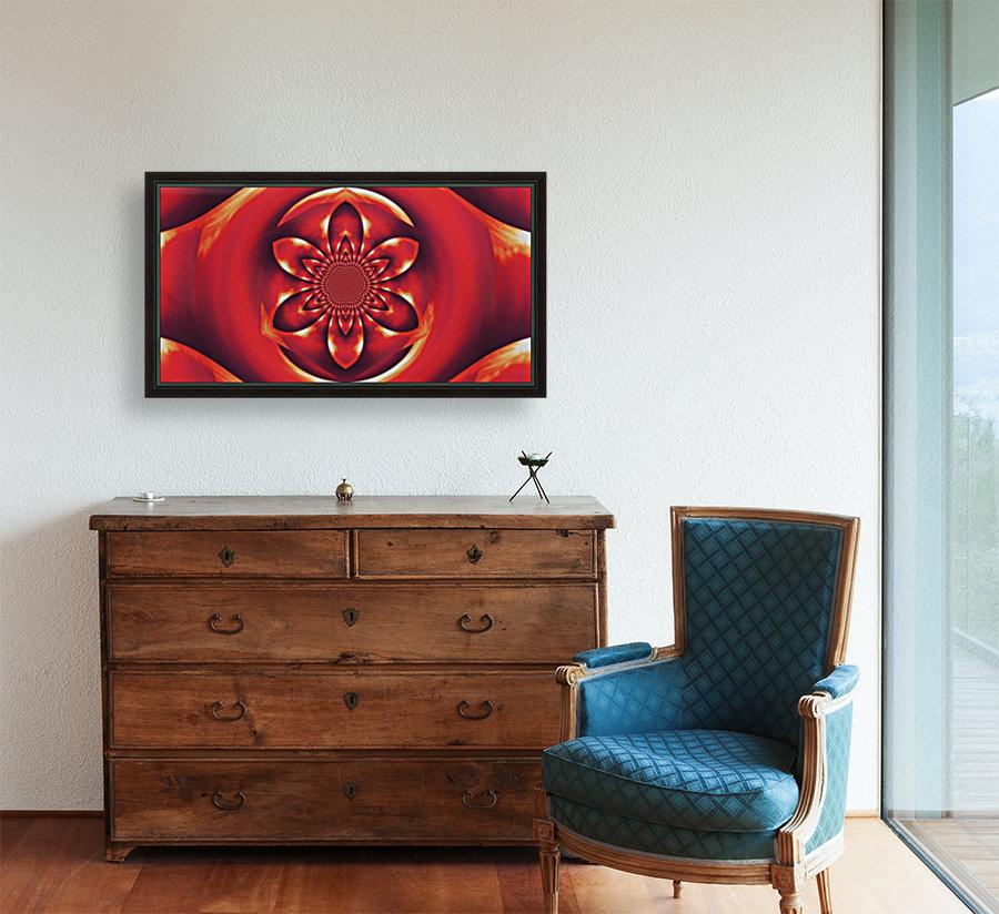 Red Fire Flower 1  Art
